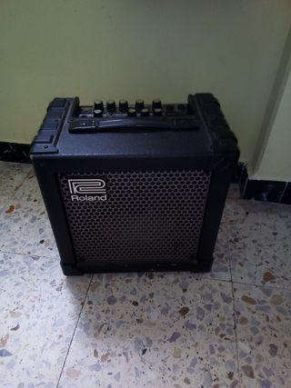 Amplificador guitarra roland