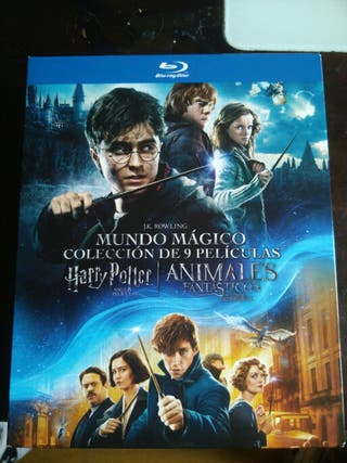 harry potter pack 8 peliculas + animales fantastic