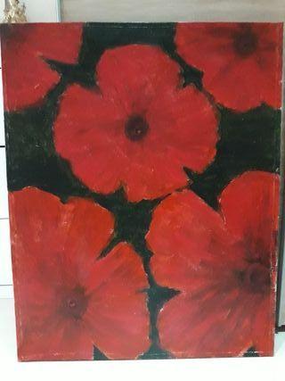 cuadro de la pintura nobel Amparo Bellido