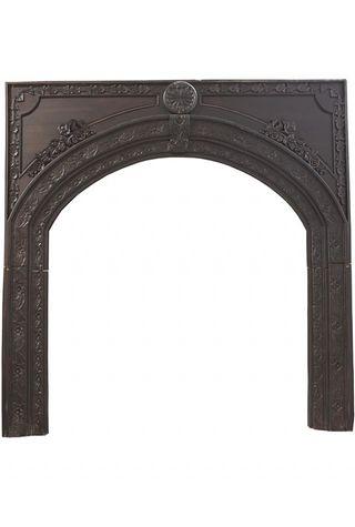 Puerta antigua decorativa
