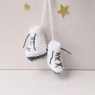 Patines de crochet oferta