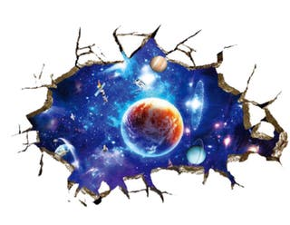 Vinilo adhesivo planetas, sate