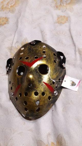 Mascara Dorada Jason Viernes 13
