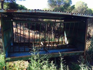 Comederos Caballos / Ganado con techo
