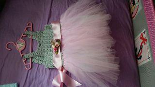 Vestido niña croche