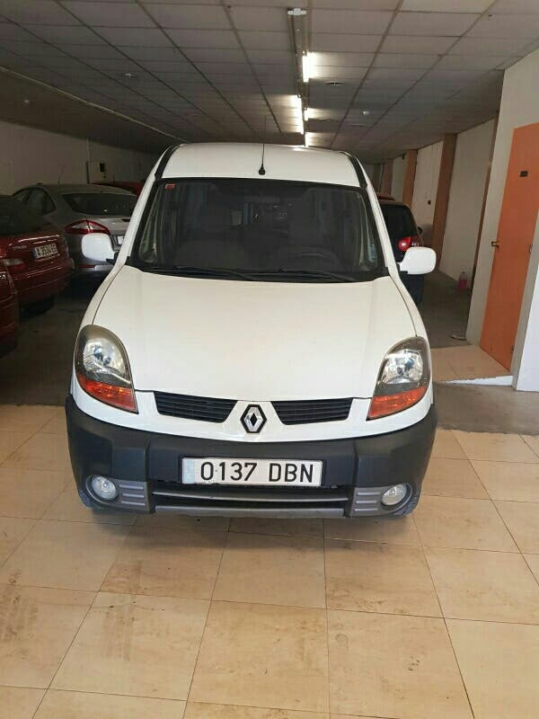 Renault Kangoo 2006 cdi 1900 4x4 en perfecto estad