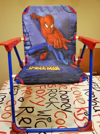 Silla Mano Plegable Catarroja Segunda Spiderman Por 5 € En De Rj34Lq5A