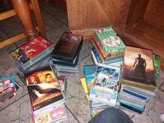 Pack de 46 VHS+ 17 DVD