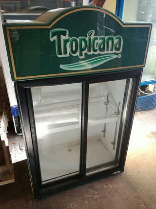 armario refrigerado dos puertas