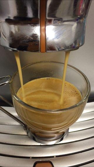 Cafetera saeco dosis