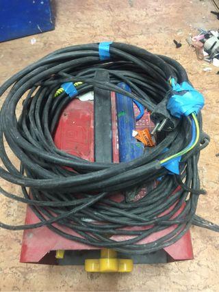 soldador eléctrico electrodos