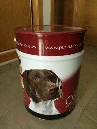 Bidon para pienso Perro