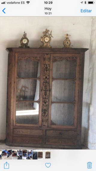 Artesanato Quarto De Bebe ~ Vitrina antigua de segunda mano por 289 u20ac en Caravaca de