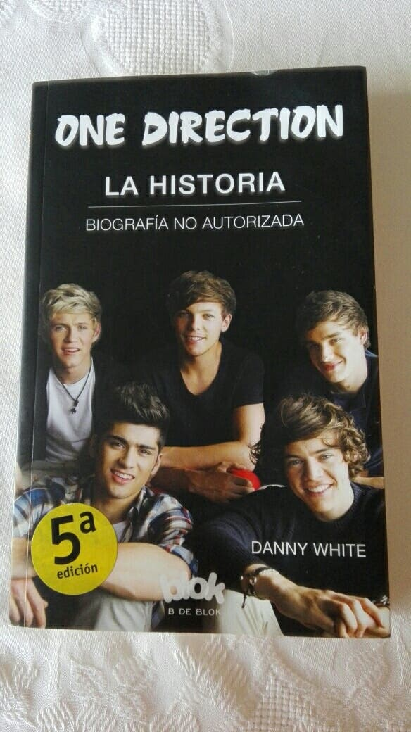 libro ONE DIRECTION Libros música CDs vinilos