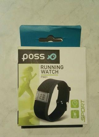 Reloj pulsera running watch pw01 sport poss