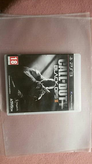Juego PS3 : Call of Duty - Balck Ops II