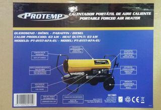 Aerocalefactor PROTEMP 54170 Kcal/h