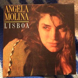 "Disco vinilo 7"" SINGLE ANGELA MOLINA LISBOA NUEVO"