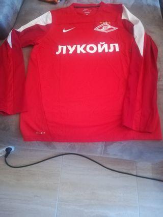 camiseta de equipo de futbol