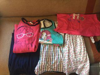 Pijamas de chica talla (p )tres