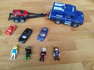 Coche Policía Playmóbil