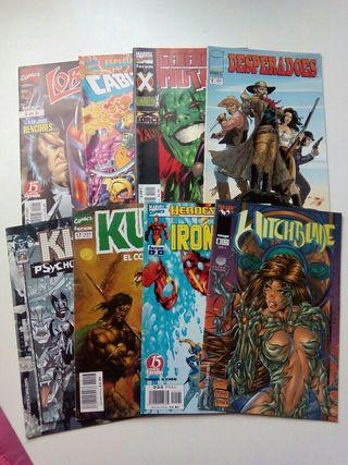 8 comics variados