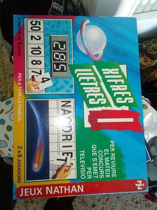 xifres i lletres joc de taula