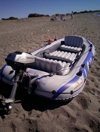 Barca Intex Excursion 5 seminueva