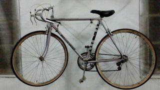 Bicicleta rabasa derbi antigua carretera
