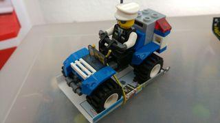quad policia compatible Lego