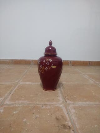 Jarrón floral porcelana Thous