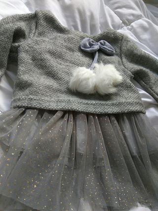 vestido invierno 9 meses