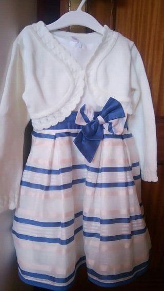 vestido ceremonia 5 años