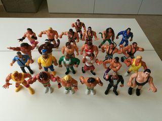 Colección muñecos originales Pressing Catch WWF