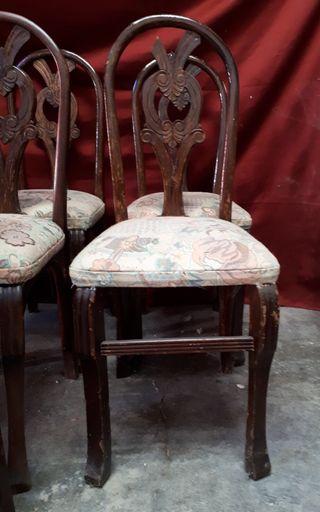 Antiguas sillas de segunda mano por 45 en villarrobledo for Sillas antiguas segunda mano