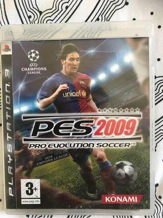 Juego ps3 fútbol