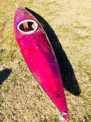 Kayak travesia + bolsa seca +remo
