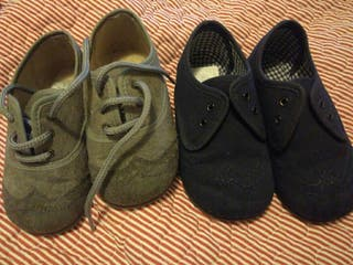 lote zapatos talla 22-23 con una puesta!