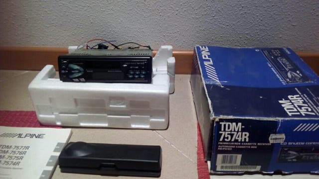 Radio-Cd Alpine