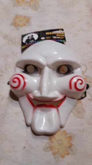 Mascara Saw Asesino Payaso