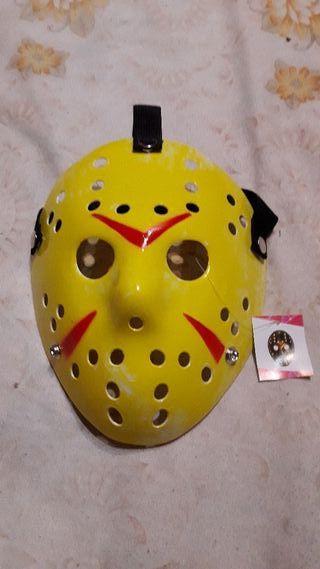 Mascara Jason Amarilla Viernes 13