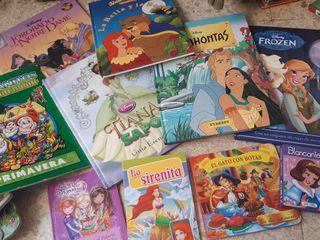 SÓLO HOY !!! Cuentos Pocahontas, Tiana y Elsa