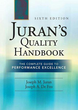Libro NUEVO Juran's Quality Handbook
