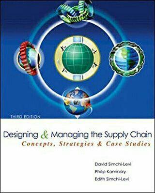 Libro NUEVO Designing and Managing Supply Chain