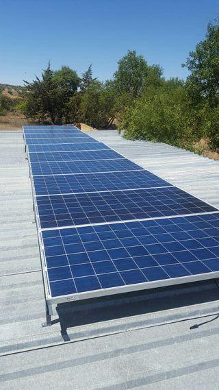placas solares. 215w