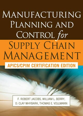 Libro NUEVO Manufacturing Planning and Control
