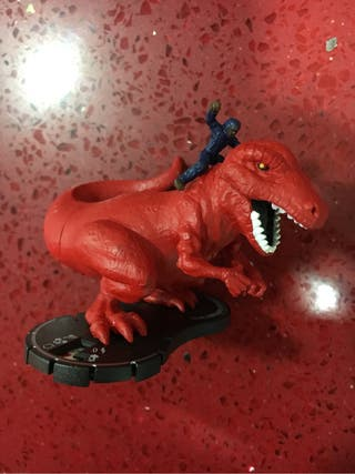 Figura heroclix evil dinosaur and moon boy