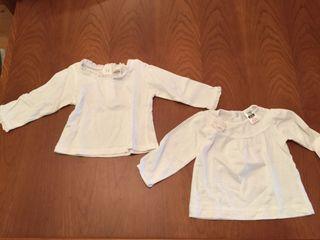 Dos camisetas 3-6 meses