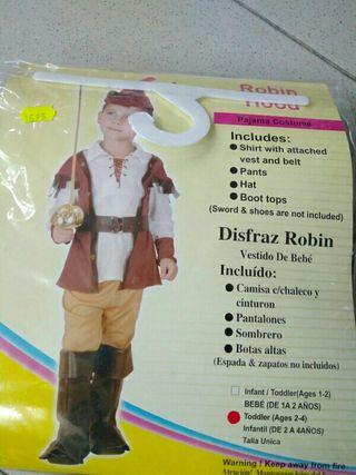 Disfraz infantil Robin 2 años