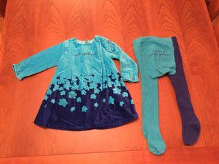 Vestido + leotardos Agatha Ruiz de la Prada 6-9 meses